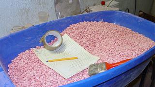 Цех за таблетиране на амфетамин разбиха в софийско село