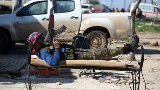 13 ислямисти са напуснали Източна Гута