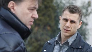 Антон Огнянов на проби в Черно море