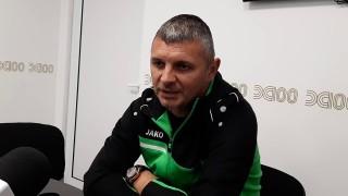 Здравко Лазаров: Разбира се, че в клуба ни сме за доиграване на сезона