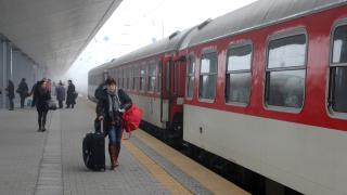 39 влака няма да се движат до 20 април