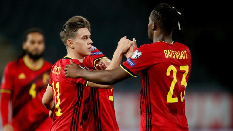 Ето какъв е съставът на Белгия за Евро 2020