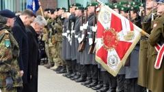 Лидерите на Полша и Германия посетиха команден център на НАТО в Източна Европа