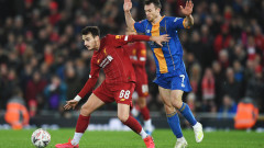 Най-младият Ливърпул в историята на ФА Къп елиминира Шрюзбъри