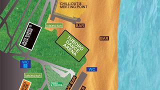 Карта на фестивала Spirit of Burgas