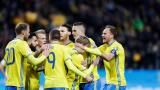 Швеция поведе групата ни след разгромна победа над Беларус