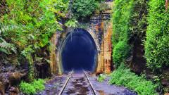 Тунелът със светещите червеи