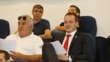 Добрин Гьонов на специализация в УЕФА
