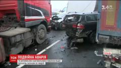 70 коли се сблъскаха при 2 верижни катастрофи в Полша