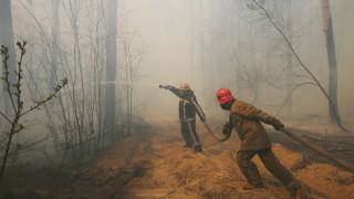 Пожарът в Чернобил се доближи до хранилищата с радиоактивни отпадъци