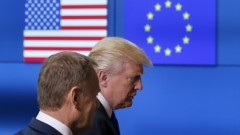 Тръмп проведе първа среща с Туск и Юнкер