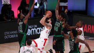 Бостън Селтикс детронира Торонто Раптърс