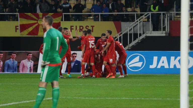 Ето къде играят надеждите на македонския футбол