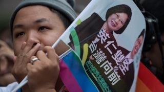 За първи път жена става президент на Тайван