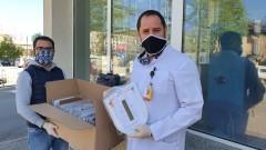 """""""Пирогов"""" получи 50 специални шлемове за най-малките пациенти"""