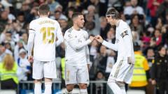 Реал (Мадрид) се препъна в слабак, разликата с Барса вече е само една точка