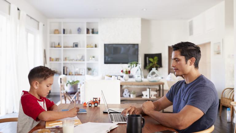 Как работата от вкъщи забавя възстановяването на икономиката