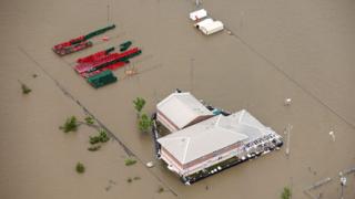 Луизиана под вода