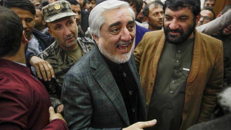 Абдула Абдула също се обяви за президент на Афганистан