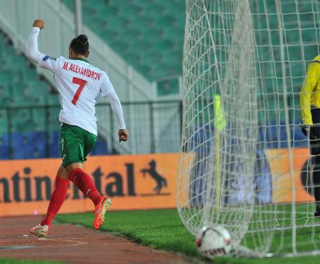 Мишо Александров започва в Динамо!