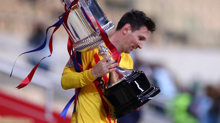 Лионел Меси е разстроен от принудителното сбогуване с Барселона