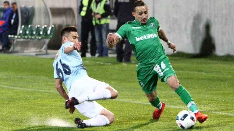 Защитник на Лудогорец изгоря за мача с Левски