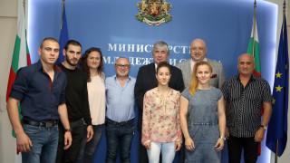 Н. Пр. Анатолий Макаров поздрави медалистите ни от Европейското първенство по самбо