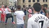 Хърватия - Англия 1:0, резултатът беше открит... на Червения площад