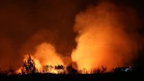Голям пожар гори в Анталия, 5 селища са евакуирани