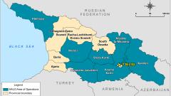 Европейският съюз пришпори Русия да прекрати окупацията на Абхазия и Южна Осетия