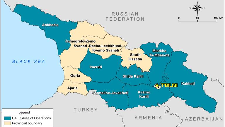 Русия трябва да прекрати окупацията на грузинските територии Абхазия и