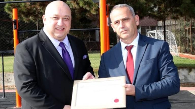 Министър Кралев и началникът на НСО генерал-майор Данчо Дяков откриха площадка за стрийт фитнес