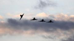 Британски изтребители прeхващат руски военни самолети в Прибалтика