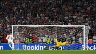 За втори път в историята финалът на Европейското се решава след дузпи