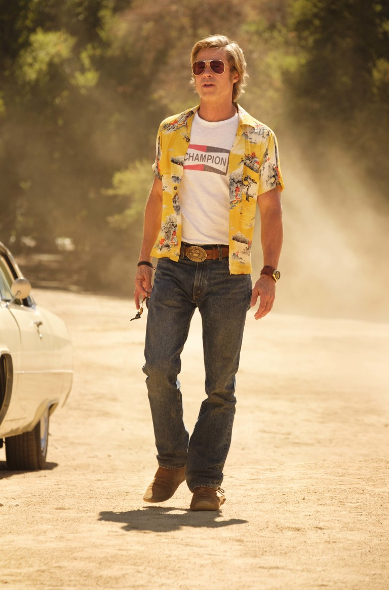 Брад Пит като Клиф Буут