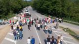 Блокада на пътя Варна-Бургас заради африканската чума