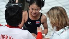 Историческа титла за Северна Корея на световното по плуване