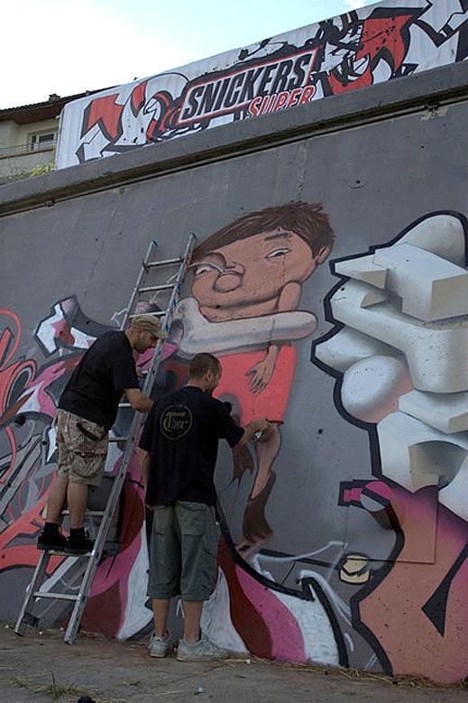 Приключи графити фестът в Царево