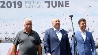 """Красен Кралев откри Европейската купа по ветроходство в клас """"Лазер"""""""