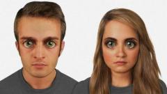 Ето как ще изглежда човешкото лице след 100 000 години