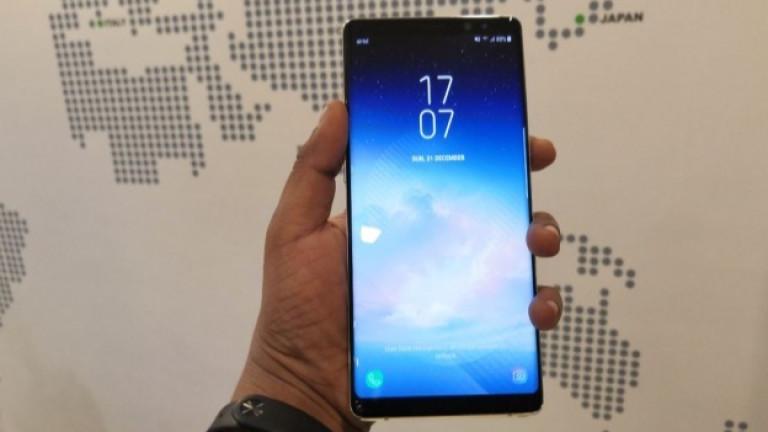 Забавящият се пазар на смартфони достигна и Samsung