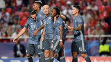 Байерн (Мюнхен) победи Бенфика с 2:0 като гост в Шампионската лига