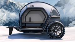 BMW и The North Face създадоха уникална зимна каравана