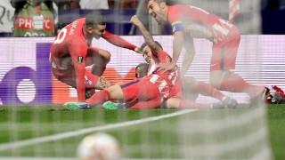 """Атлетико със сериозна заявка за полуфинал, Спортинг загуби звездата си за """"Алваладе"""""""