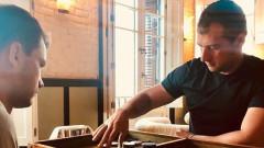 Григор Димитров загря с табла за утрешния мач с Фернандо Вердаско