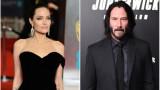 Анджелина Джоли, Киану Рийвс и някои слухове