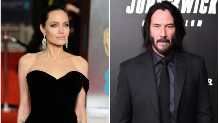 Имат ли връзка Анджелина Джоли и Киану Рийвс