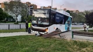 Шофьор на автобус припадна