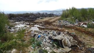 Откриха незаконно сметище за строителни отпадъци край Враца