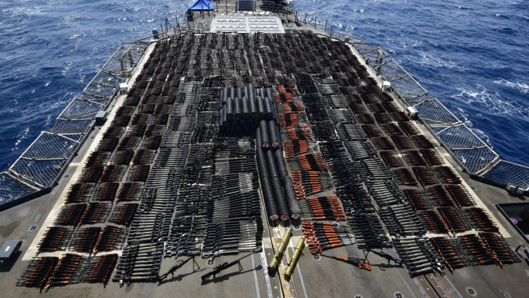 Американският ракетен крайцер